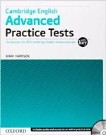 CAMBRIDGE ADVANCED - PRACTICE TESTS with Key & CD**Up2015*