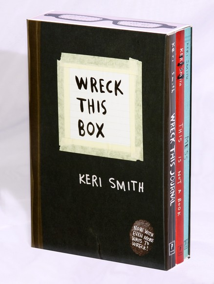 WRECK THIS JOURNAL BOX SET - Penguin USA