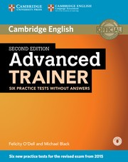ADVANCED TRAINER   with Audio CD, without Key 2Ed