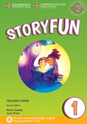 STORYFUN FOR STARTERS Level 1 - TCH`S w/Download audio*2ndEd