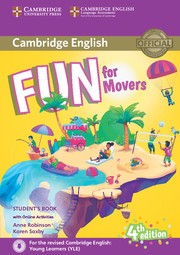 FUN FOR MOVERS- STUDENT`S w/Download Audio **4th Edition*