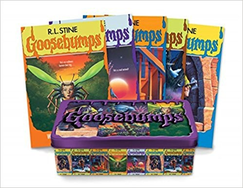 GOOSEBUMPS 25th ANNIVERSARY RETRO SET - Scholastic