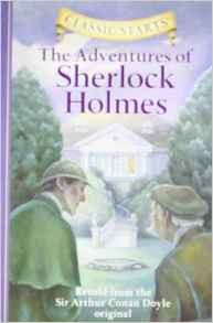 ADVENTURES OF SHERLOCK HOLMES -Classic Starts Retold
