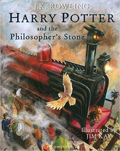 HARRY POTTER 1-THE PHILOSOPHER`S STONE - *Illustrated Ed