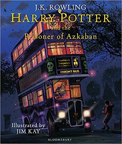 HARRY POTTER 3 - THE PRISONER OF AZKABAN - *Illus. Ed*