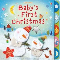 BABY´S FIRST CHRISTMAS with CD - Usborne   **New Edition**