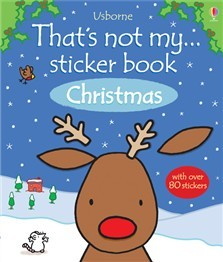 THAT´S NOT MY STICKER BOOK OF CHRISTMAS - Usborne