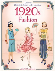 1920s FASHION - Historical Sticker Dolly Dressing