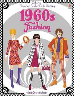 1960s FASHION - Historical Sticker Dolly Dressing