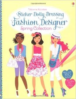 FASHION DESIGNER SPRING COLLECTION - Sticker Dolly Dressing