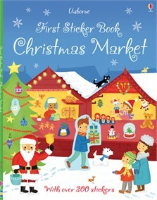 CHRISTMAS MARKET - Usborne First Sticker Book