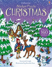 STICKER PUZZLE CHRISTMAS - Usborne