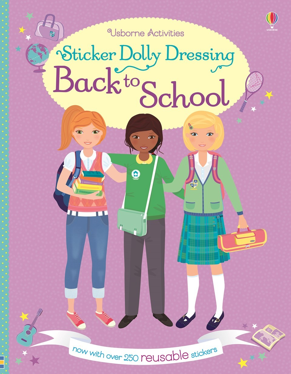 BACK TO SCHOOL - Sticker Dolly Dressing **New Edition**