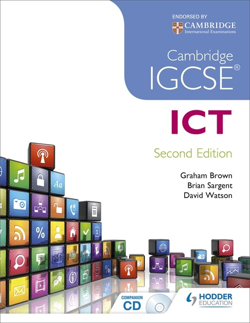 coursework of ict student igcse Gcse information and communication technology helps students develop their knowledge of current and emerging technologies, a range of ict tools and techniques and.