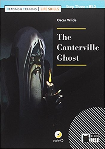 CANTERVILLE GHOST,THE w/CD - Black Cat Reading & Training Sk