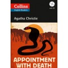APPOINTMENT WITH DEATH - with CD - Collins English Readers