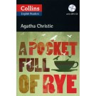 POCKET FULL OF RYE,A with CD - Collins English Readers