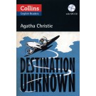 DESTINATION UNKNOWN with CD - Collins English Readers