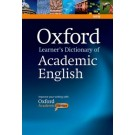 OXFORD LEARNER`S DICTIONARY OF ACADEMIC ENGLISH w/CD-ROM