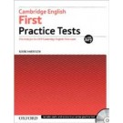 CAMBRIDGE FIRST - PRACTICE TESTS with Key & CD **Up2015**