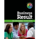 BUSINESS RESULT  PRE INTERMEDIATE - STUDENT`S with DVD *N/E*
