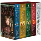 GEORGE R.R MARTIN`S A GAME OF THRONES - BOX SET x5