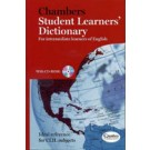 CHAMBERS STUDENT LEARNER S DICTIONARY with CD-ROM