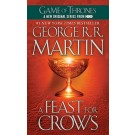 SONG OF ICE AND FIRE,A 4: FEAST FOR CROWS - Bantam