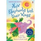 HOW ELEPHANTS LOST THEIR WINGS-Usborne F.Read. Mauve with CD