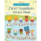 FIRST NUMBERS STICKER BOOK - Usborne Get Ready for School