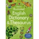 USBORNE ILLUSTRATED DICTIONARY AND THESAURUS  *New Edition*